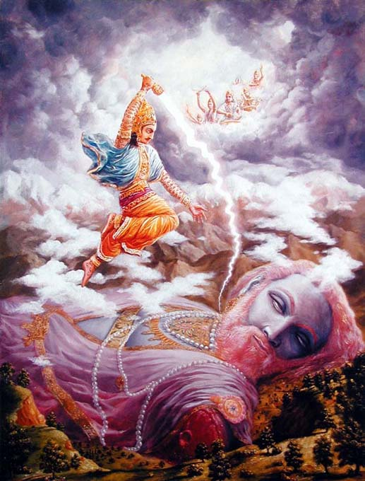 Vritra The Cause Of Birth Of Pandavas