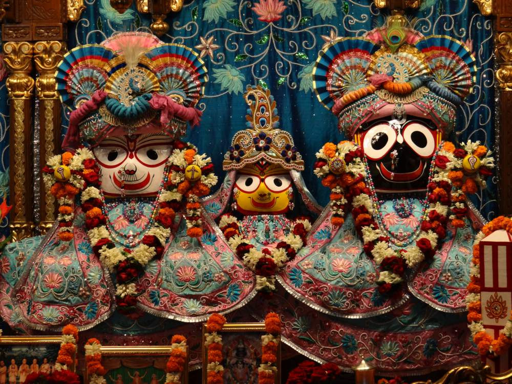 Lord Jagannath Lord of the Universe is very unwell and under Medication.