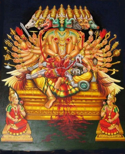 Ashta Mukha Ganda Bherunda- The most special and unknown form of Lord Nrsimha