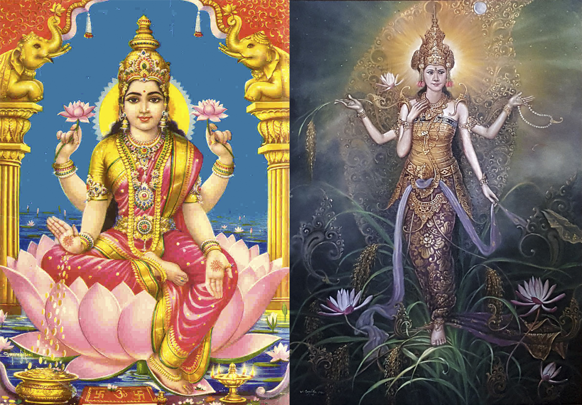 The Rice Goddess- A tale of Indonesian Lakshmi