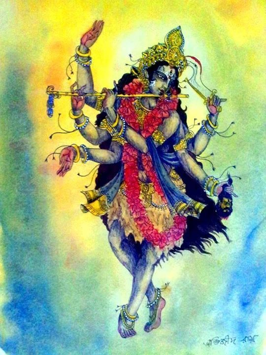 Krsna Kali: The Inseparable Divinity